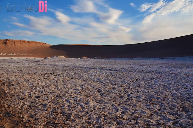 Um deserto de sal! - Valle dela Luna