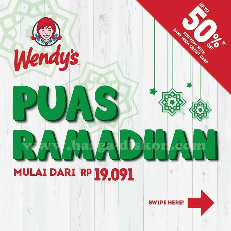 Promo Wendy S Terbaru Paket Puas Ramadhan Periode 4 Mei 30 Juni 2018 Harga Diskon