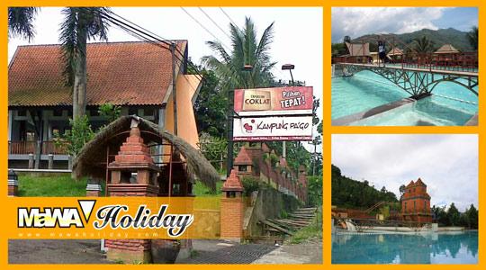Kampung Pa'go Ciwidey - Review Wisata Bertemakan Resort, Fasilitas & Harga