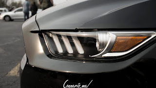 Ford Mustang Headlight Profile