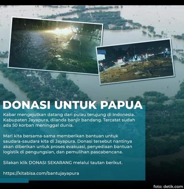 Gubernur Sebelah Sibuk Kampanye, Begini Langkah Nyata Anies Respons Banjir Papua
