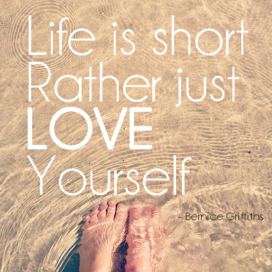 life is short, quote, positive, bernice, sea, ocean, feet, water, love yourself, betty bake, hello