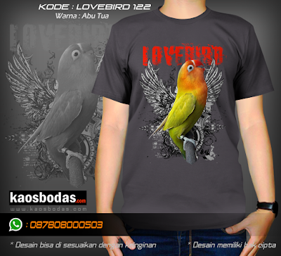 Supplier kaos burung kicau mania, Lovebird, Jalak suren, Kenari, Pleci, Cucak Ijo, Kolibri, Untuk Team dan pribadi. Desain Keren, Lucu, Unik, 3D, BERGARANSI