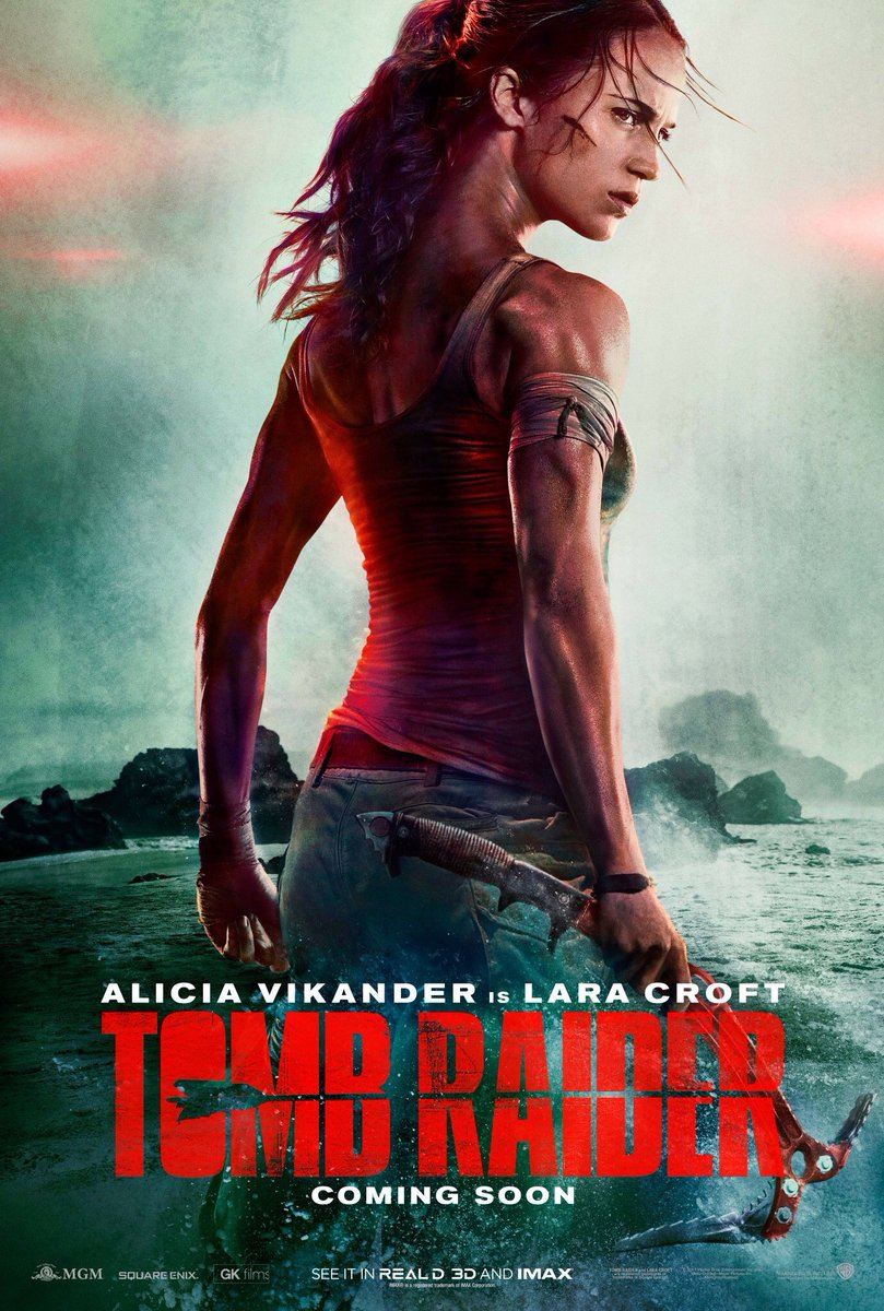Checkout Tomb Raider Movie Official Poster