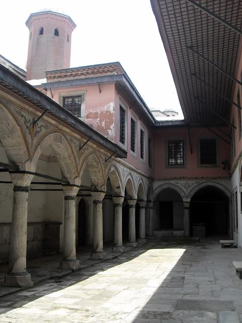 Patios Topkapi en Estambul