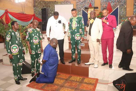 Gov Ikpeazu Receives Prayers From Assemblies Of God Pastors