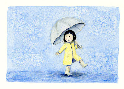 rain illustration yara dutra