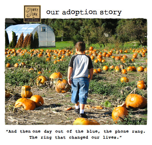 Our Adoption Story - how patience and trust ultimately brought us love - via Funky Junk Interiors