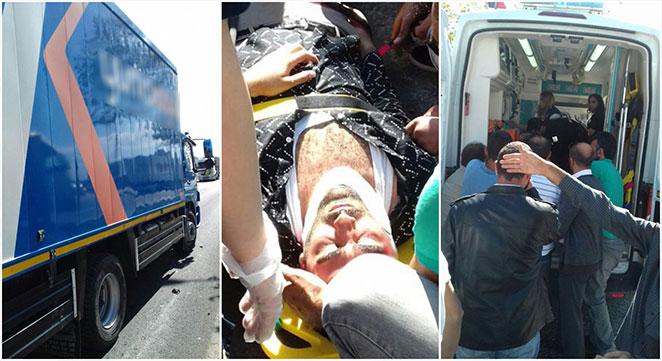 Diyarbakır'da Mahabat Bulvarı'nda kargo aracı yayaya çarptı