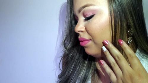 blog flor do oriente, outubro rosa,campanha,prevenção,cancêr de mama, saudade, saude da mulher, brumartinails, nails, rosa, rosa nails, makes, makes da rai, makesmulher, make rosa