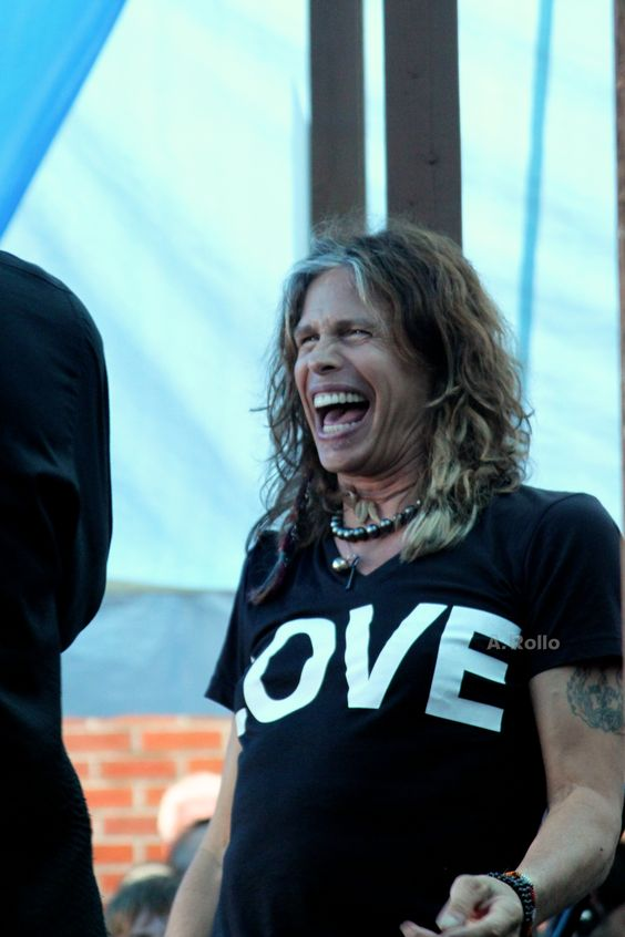 LOVE V-neck T-Shirt as worn by Steven Tyler (Aerosmith). PYGear.com