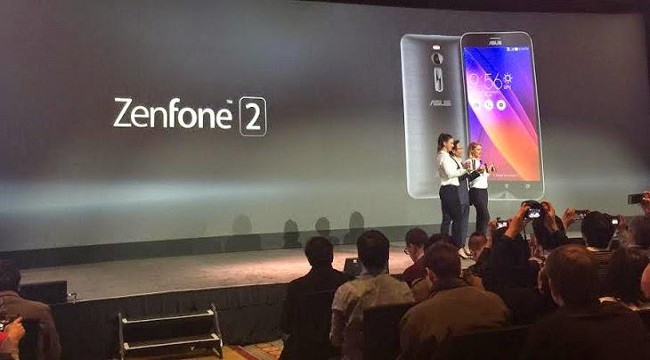 مواصفات وسعر هاتف ASUS Zenfone 2 بمعالج إنتل 64 بت