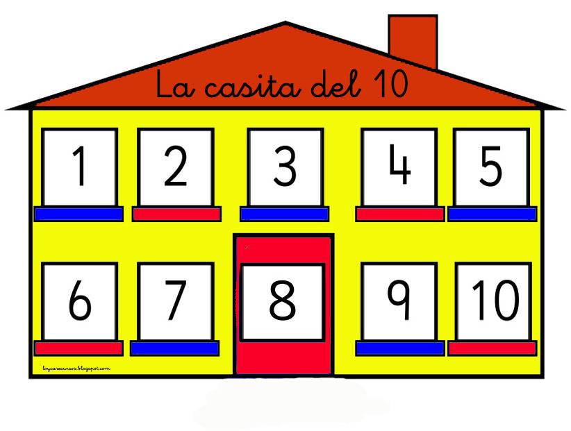 Recursos de educaci n infantil la casita del 10 - La casita del patchwork ...