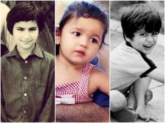 13 aww-dorable throwback photos of Bollywood celebrities - Tribune News