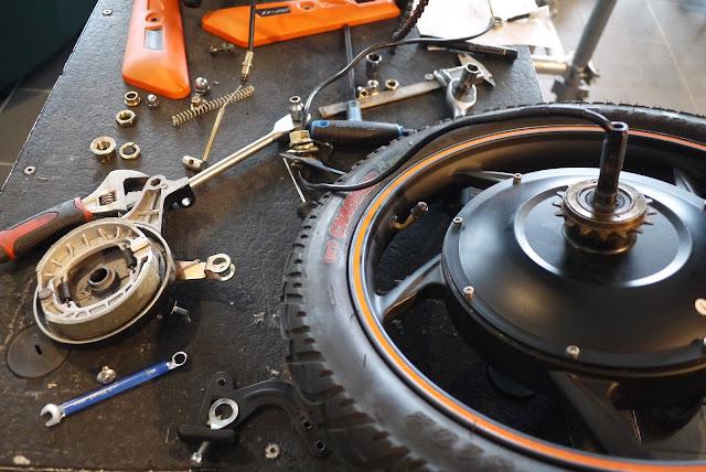 eScooter Rear Hub Brake