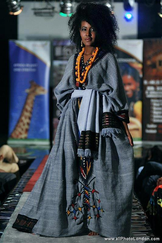 Mamucha's Fashion World: Tradtional Habesha dress