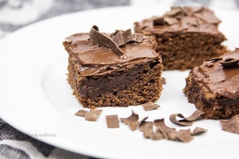 Chocolate Salted Caramel Squares
