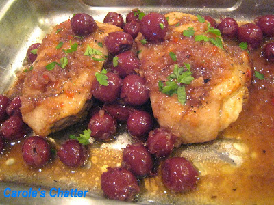 Carole's Chatter: Duck with Cherries