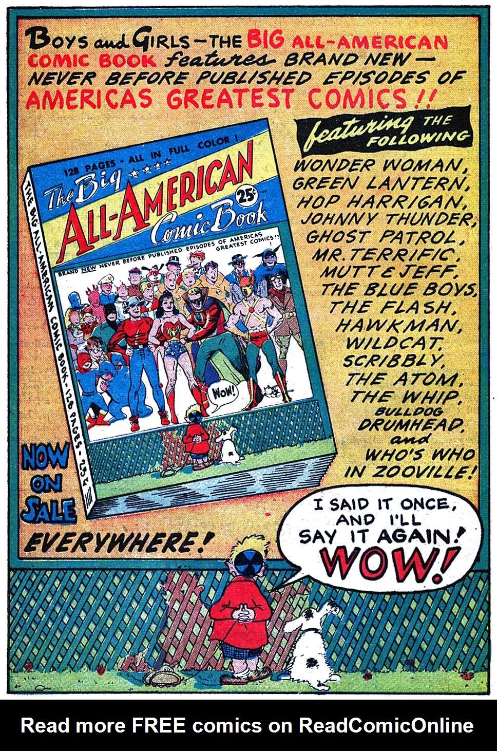Read online All-American Comics (1939) comic -  Issue #63 - 34