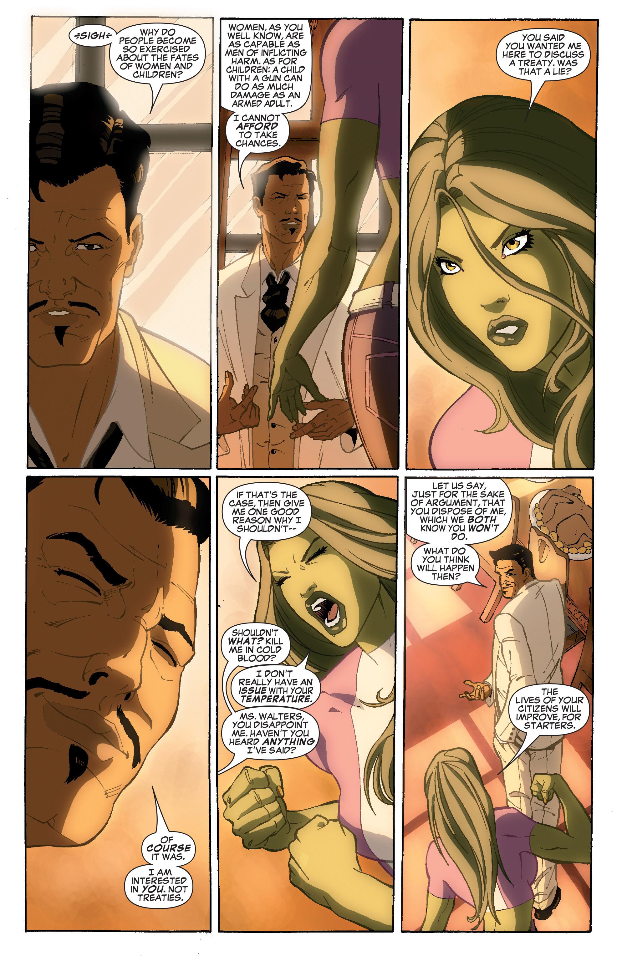 Read online She-Hulk (2005) comic -  Issue #36 - 7