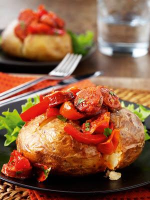RECIPE: Chunky Chorizo & Juicy Tomato McCain Ready Baked Jackets