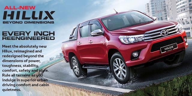 Toyota Hilux Serba Baru 2016 Generasi ke-8
