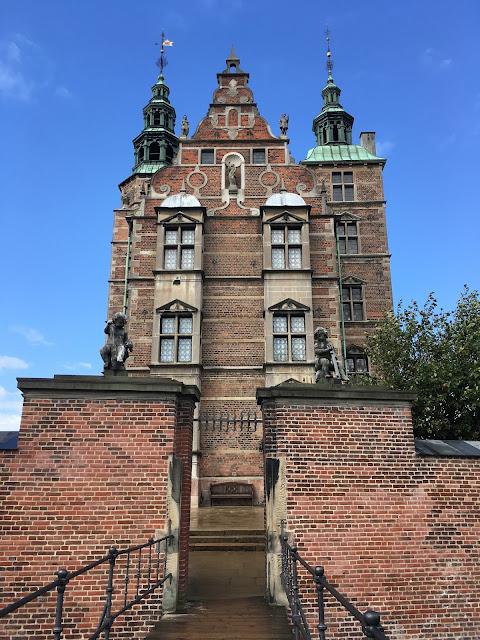 rosenborg slot, copenhagen, castle