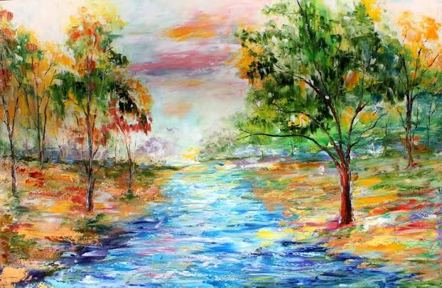 karen tarlton original oil painting