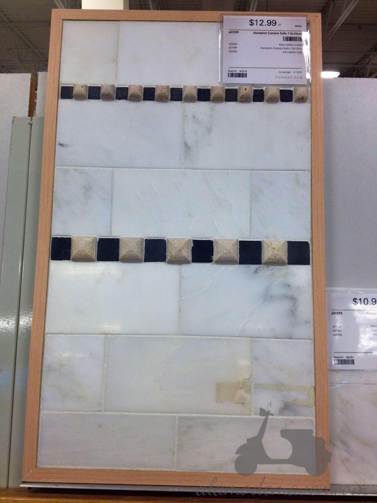 alamode I m Talkin Tile Carrera Marble Backsplash Tiles