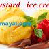 கஸ்டார்ட் பவுடர் ஐஸ் க்ரீம் செய்முறை | Custard Powder Ice Cream Recipe !