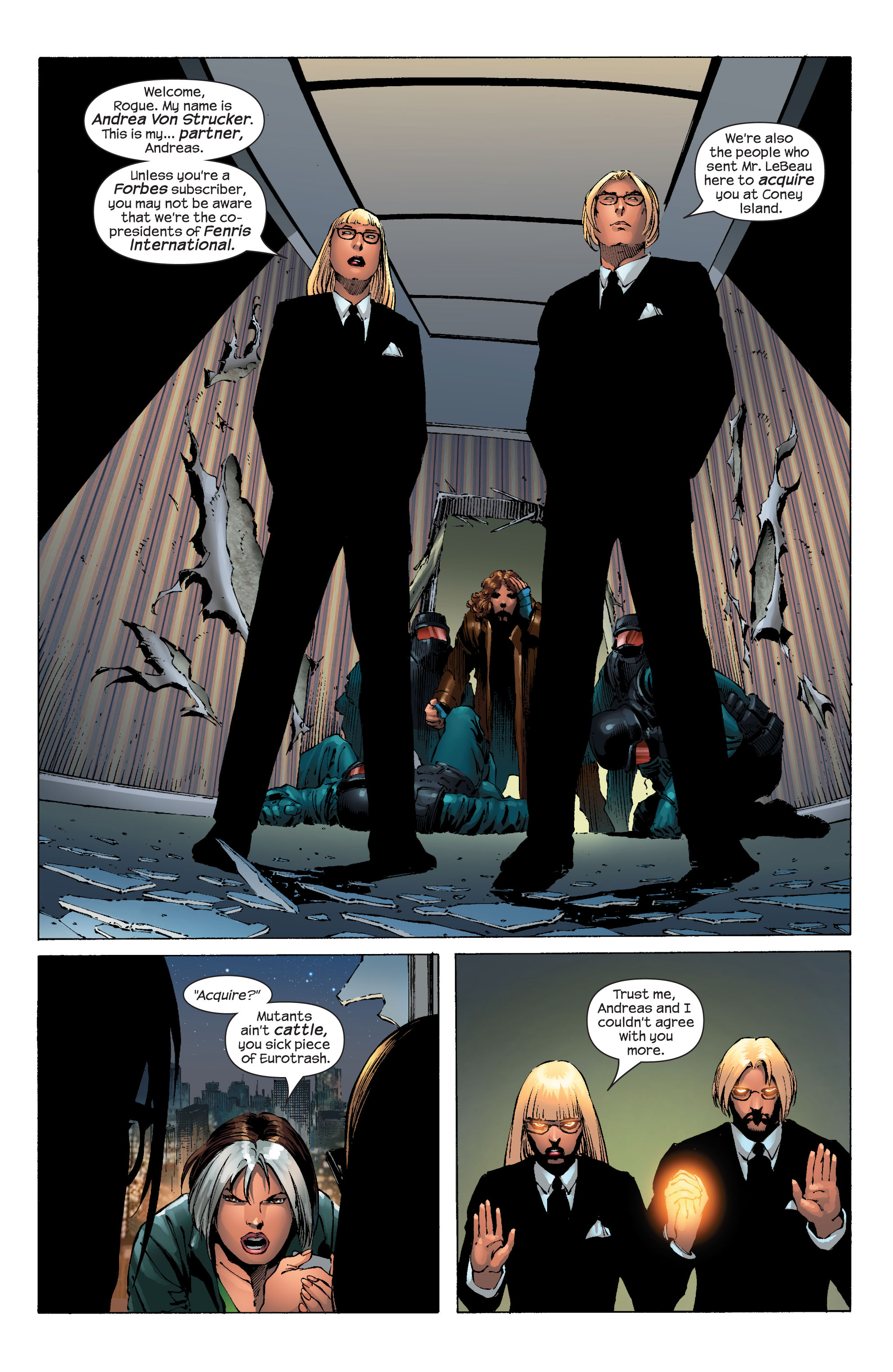 Read online Ultimate X-Men comic -  Issue #51 - 19