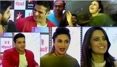 Yeh Hai Mohabbatein Success Party Interview Dance 26th July 2018