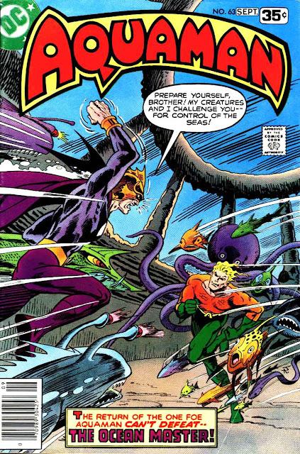 Aquaman v1 #63 dc 1970s bronze age comic book cover art