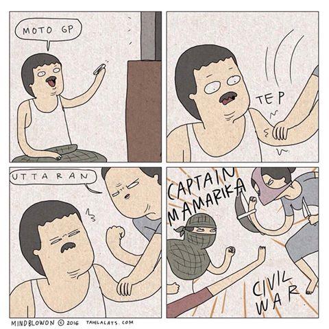 Kumpulan Komik Strip Lucu Tahilalats #9