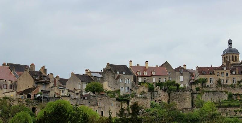 W podróży / En voyage : Vézelay, France