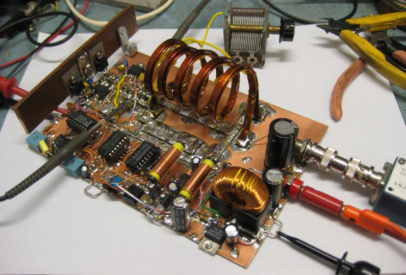 K6JCA: Building an 80-Meter Class E/F RF Amplifier
