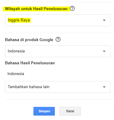 Matikan Google SafeSearch Tanpa VPN
