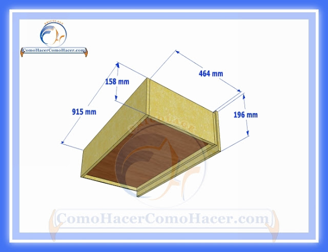 Cómo hacer una cama medidas plano guía construcción | Web del ...