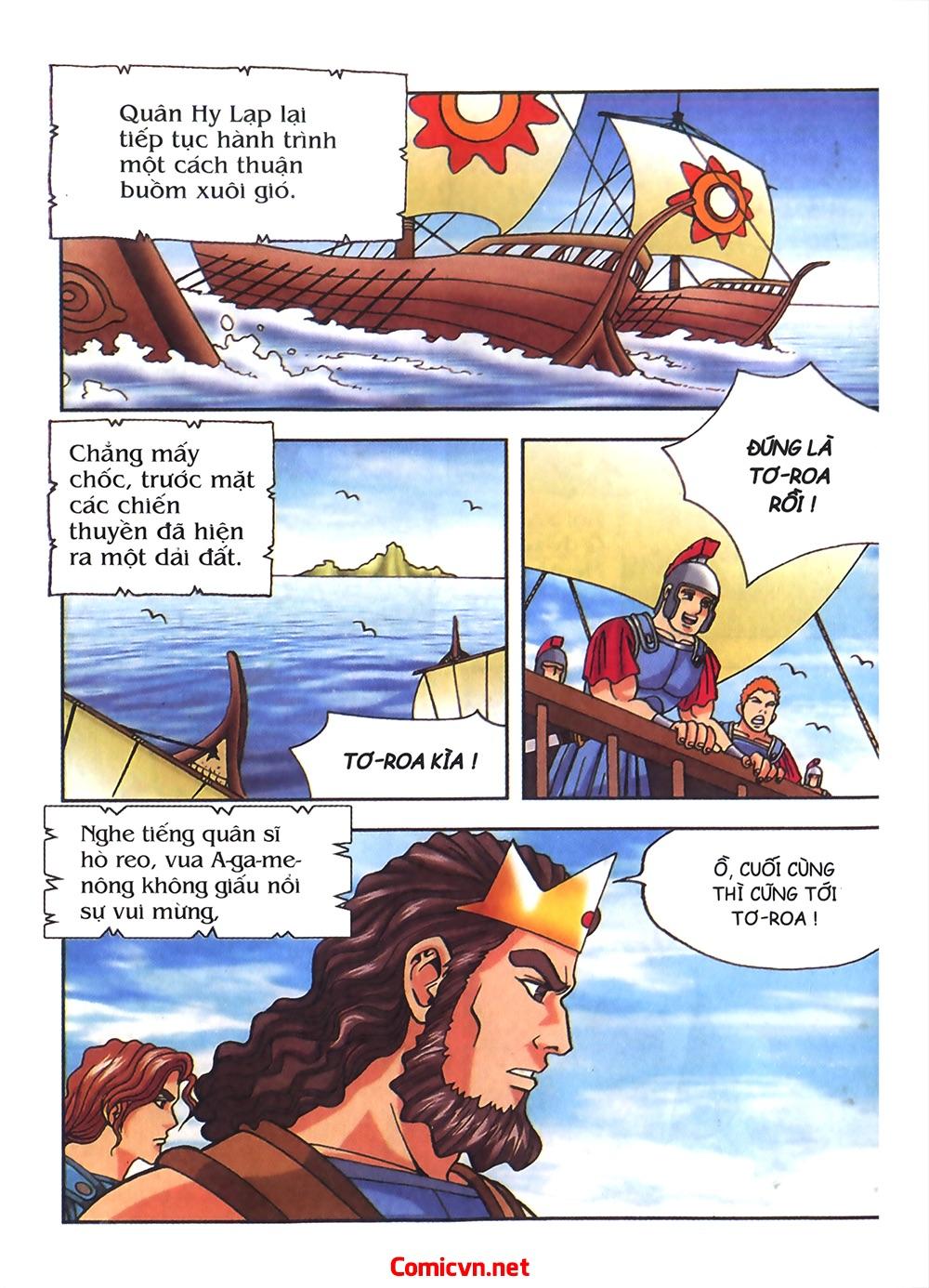 Thần Thoại Hy Lạp Màu - Chapter 54: Tiến về thành Troy - Pic 18