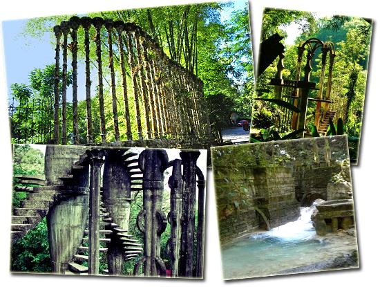 Las Posas - Jardim Surreal - Mosaico 2