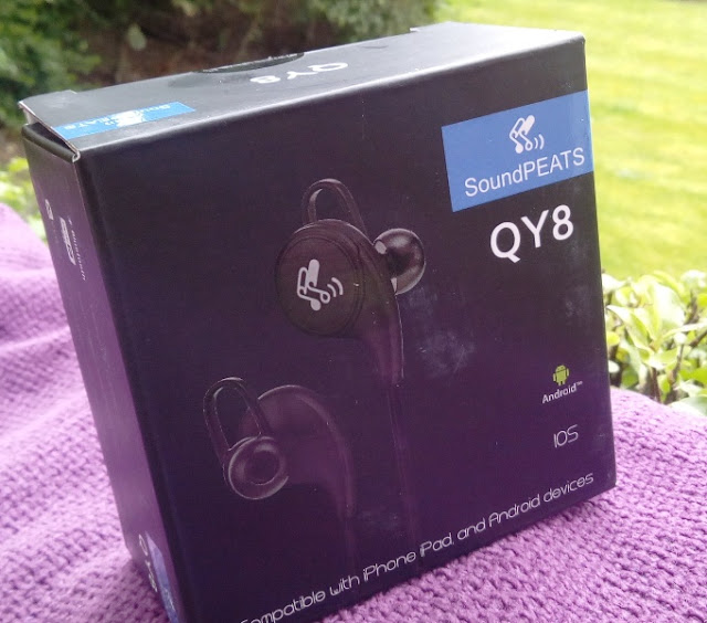 Soundpeats Qy8 Sports Claw Running Earphones Amongst Bluetooth 4.1 + Edr