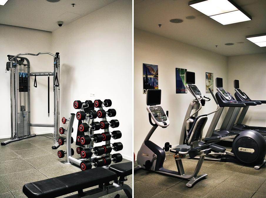 fitness center davos hilton hotel