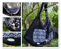 custom made handbag gothic romantic | http://panpancrafts.blogspot.de/