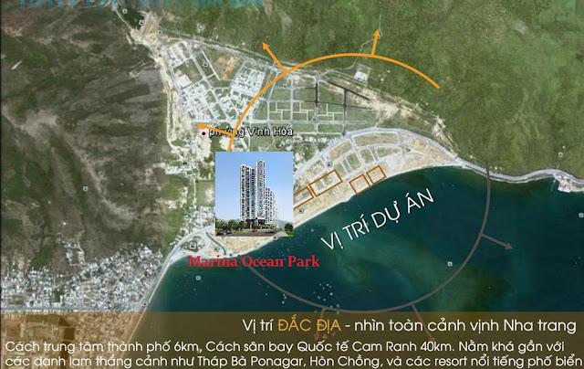 vị trí dự án căn hộ marina ocean park nha trang 0896356386