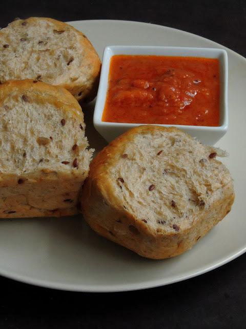 Vegan Mixed Seeds & Spelt Flour Bread rolls