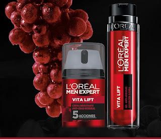 Prueba L'Oréal Vita Lift Men Expert