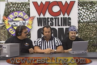WCW Road Wild 1998: Dean Malenko hangs out in the Internet Location