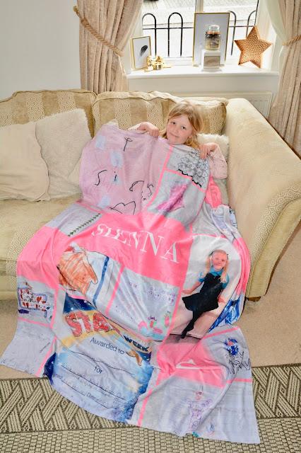 Snapfish fleece photo blanket review