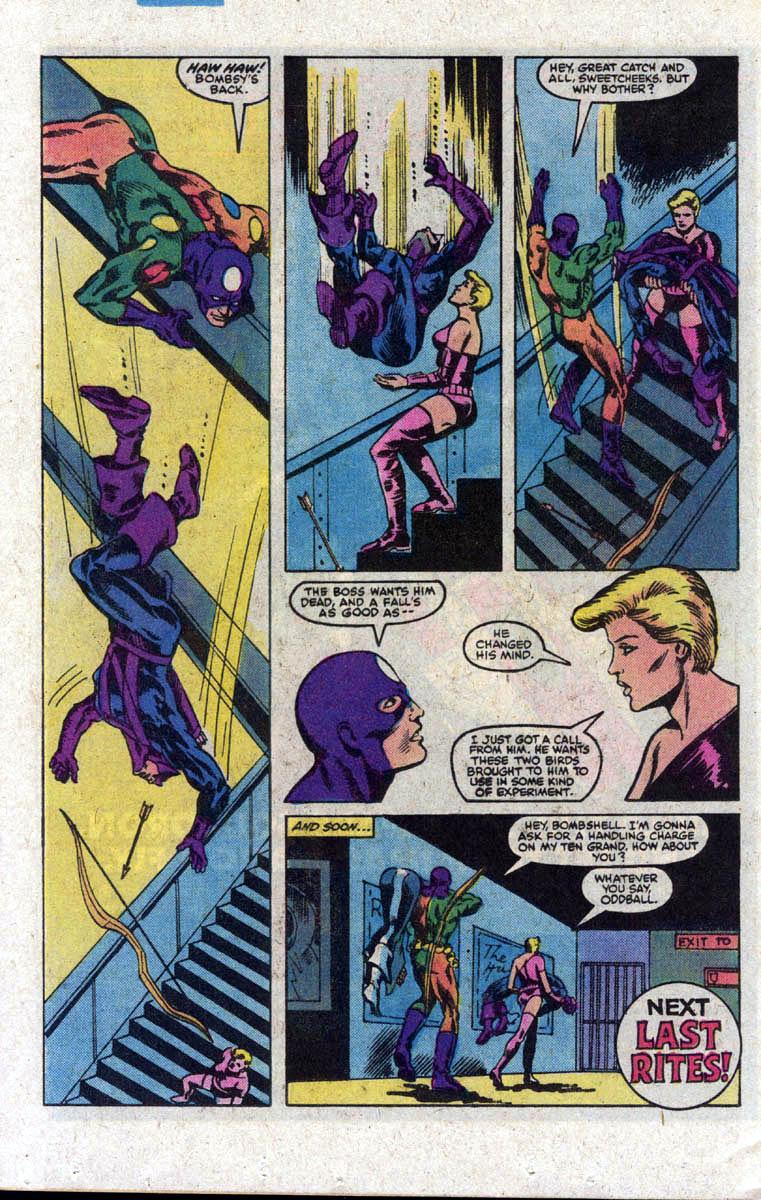 Hawkeye (1983) Issue #3 #3 - English 23