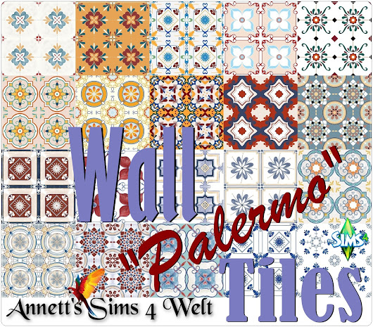 "Wall Tiles ""Palermo"""